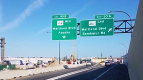 Fewer delays but still some confusion among drivers at new I-4 ramp lane in Maitland