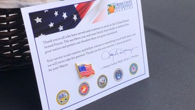'Thank you': Orange County honors veterans with inaugural Veterans Day ceremony