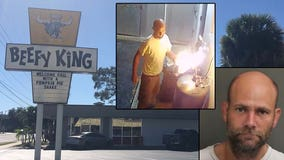 Beefy King owners: Fire damage from arsonist delays opening
