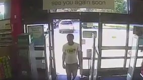 Polk County deputies search for stolen credit card suspect