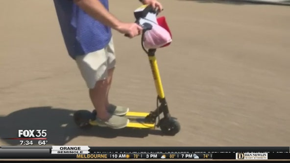 Electric scooters could soon be coming to Downtown Orlando
