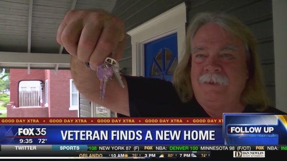Veteran finds a new home