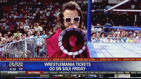 Wrestlemania tickets go on sale Friday