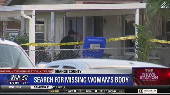 Search for missing woman's body in Winter Garden