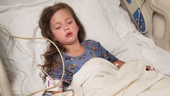 Utah girl, 5, punctures throat after falling while brushing teeth