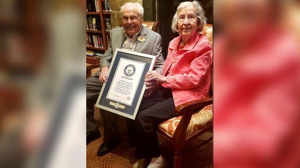 Austin couple declared oldest living married couple in the world by Guinness World Records