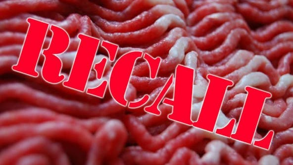 Raw ground beef recalled in 9 states for possible contamination, officials say