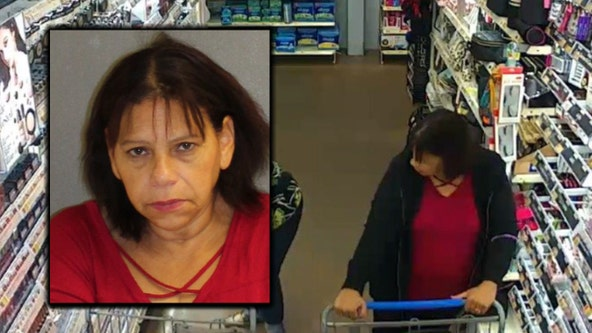 Woman accused of stealing purses, preying on older female shoppers arrested