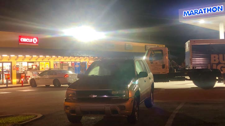 Suspects sought after carjacking man at gunpoint at Orange County gas station, police say - FOX 35 Orlando