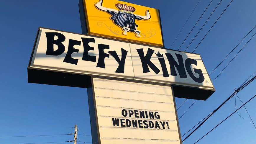 Orlando's beloved Beefy King restaurant back open after fire