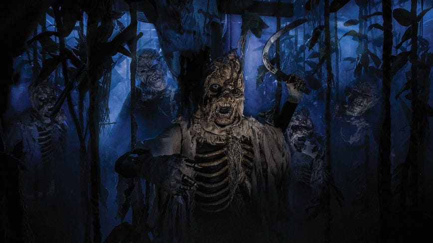2 haunted houses at Universal Orlando to operate on select dates this fall