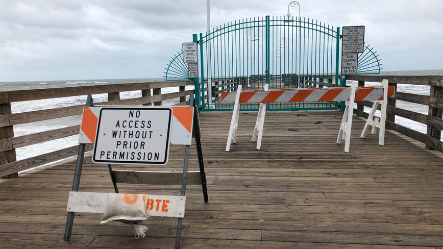 Daytona Beach expected to make repairs on pier damaged by Hurricane Dorian