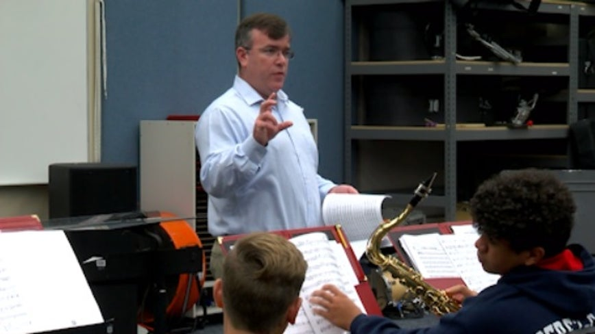 Freedom High School band director gets 2nd Grammy nomination