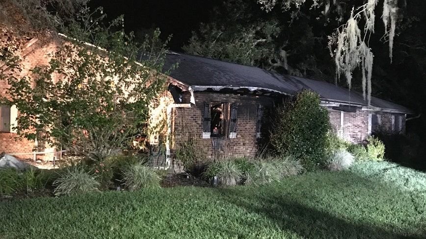 Overnight house fire causes heavy damage, takes the life of family cat