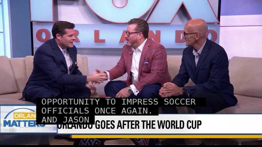 Orlando goes after the World Cup