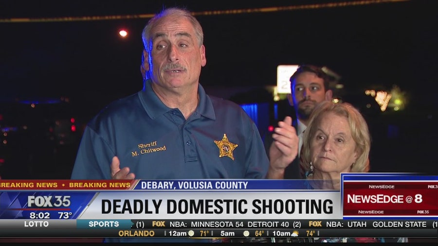 Deadly domestic shooting in DeBary