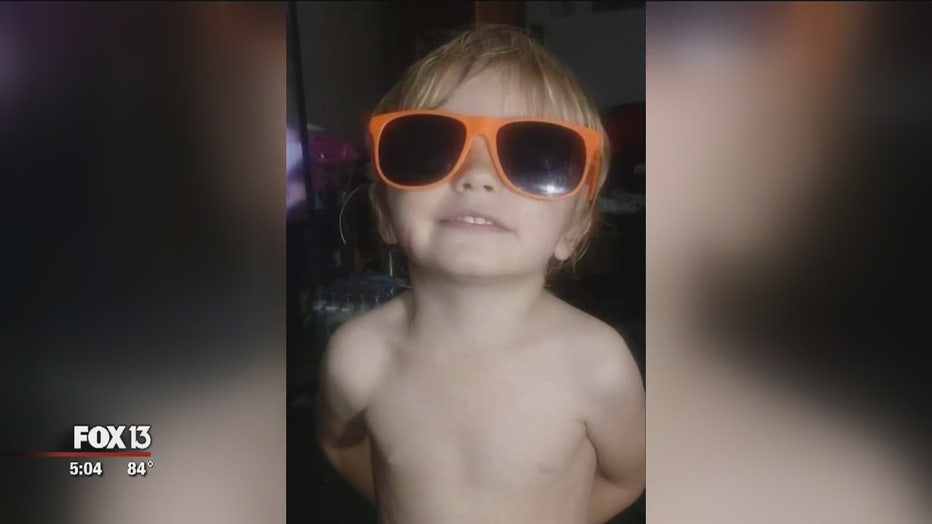 Joshua Bronson died after being run over by the SUV his mother was driving.