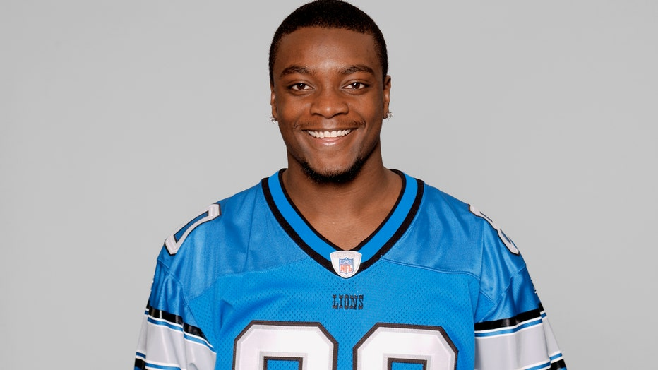 DETROIT - 2005: Charles Rogers of the Detroit Lions poses for his 2005 NFL headshot at photo day in Detroit, Michigan. (Photo by Getty Images)