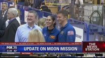 NASA unveils core stage of moon rocket