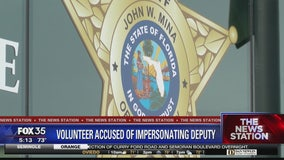 Volunteer accused of impersonating a deputy