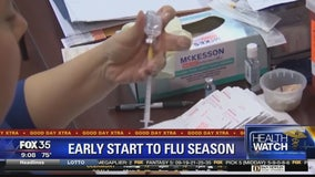 Early start to flu season