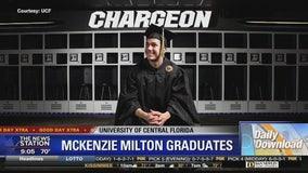UCF's McKenzie Milton graduates