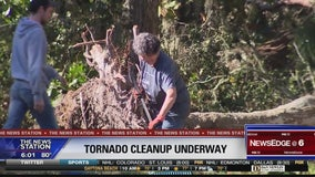 Crews continue cleanup following tornado in Flagler County
