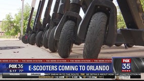 E-scooters coming to Orlando