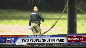 Two people shot at Titusville park