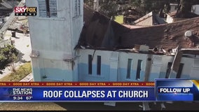 Roof collapses at Orlando church