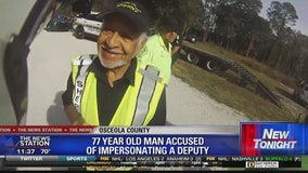 Man accused of impersonating officer