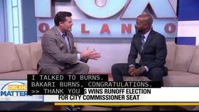 City Commissioner Bakari Burns