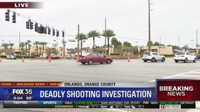 Deadly shooting at Orlando intersection near airport