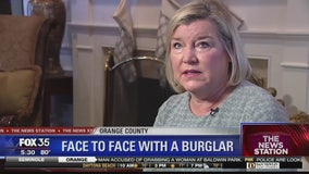 Woman encounters burglar inside home