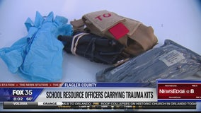 Flagler school resource officers to carry trauma kits
