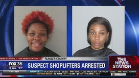 Two women accused in shoplifting spree
