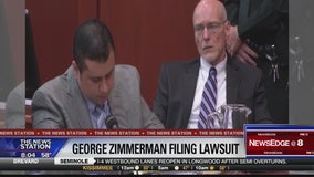 George Zimmerman filing lawsuit against Trayvon Martin's family, prosecutors