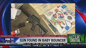 Let's Get Digital: Gun found in a baby toy, a special military Christmas card, and an update on the unicorn puppy