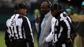 Flores blames Dolphins' loss on more than disputed call