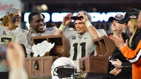 UCF gets 10th win, beating Marshall 48-25 in Gasparilla Bowl