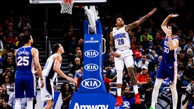 Fournier, Magic hold off Sixers for 98-97 win