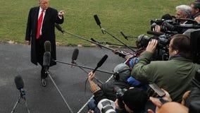 Study shows hostility toward journalists by Trump fans