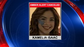 Amber Alert canceled for missing Osceola County teenager Kamelia Isaac