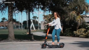 New e-scooters available to rent on University of Central Florida campus