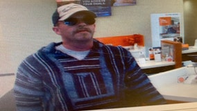 Melbourne Police searching for bank robbery suspect