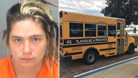 Mother charged with child neglect for leaving young children in bus overnight