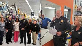 Florida police department pays off 26 layaway accounts at Walmart