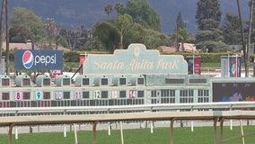 Santa Anita Park begins winter racing season amid protest