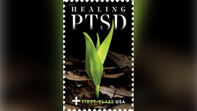 'Healing PTSD' stamp created by U.S. Postal Service to raise money for veterans