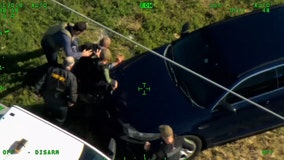 Video shows Volusia County Sheriff Mike Chitwood chasing down suspect